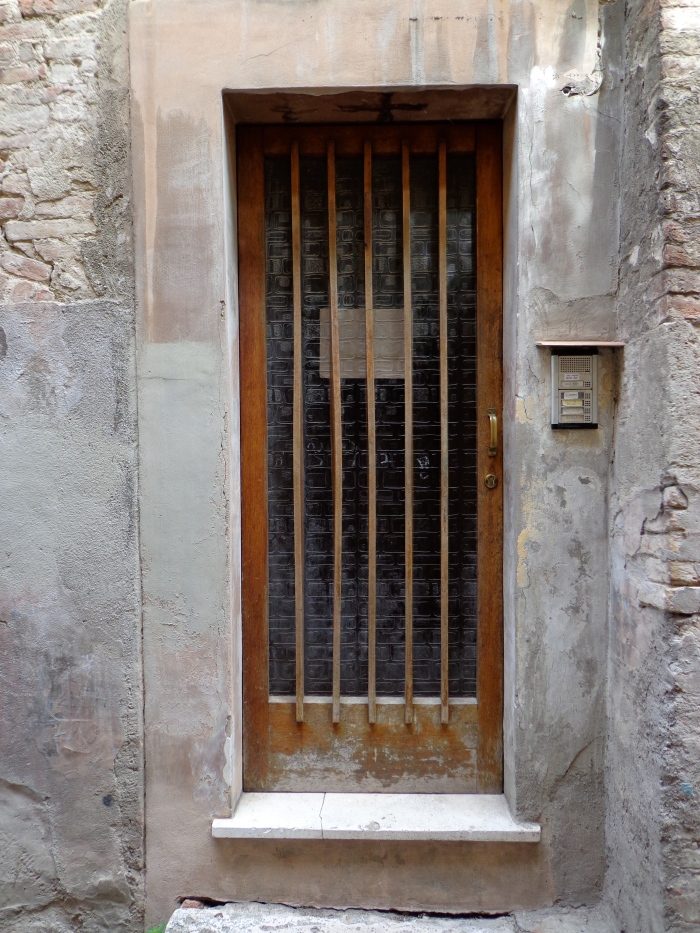 Timber and glass door Perugia