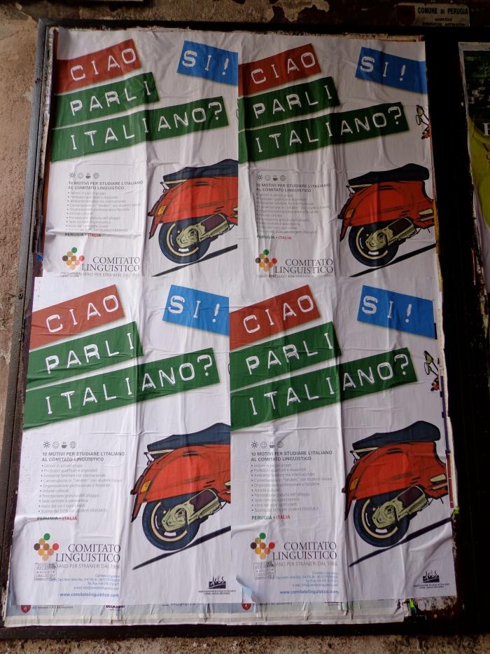 Ciao parli italiano?