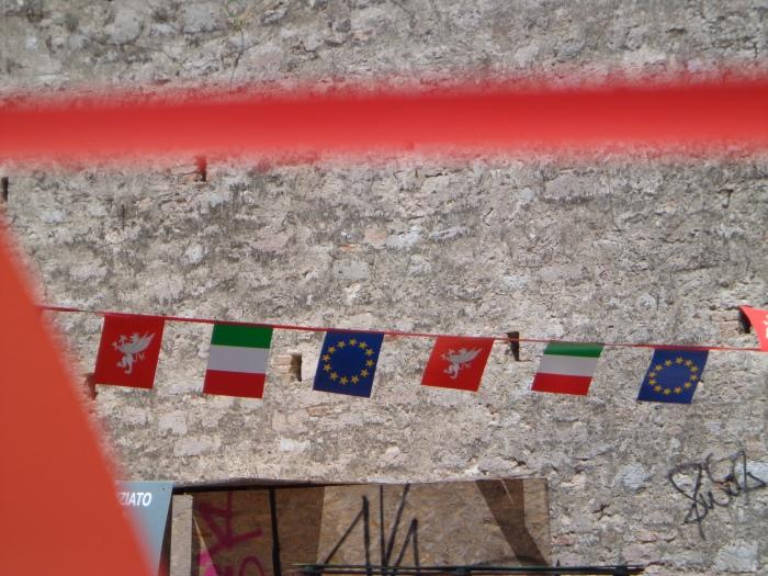Flag bunting Perugia