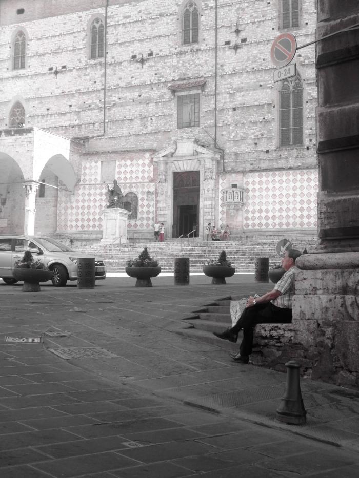 Step sitter Piazza iv novembre