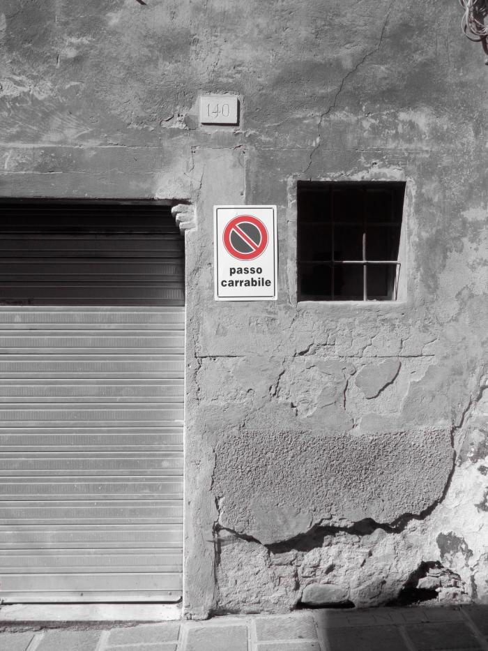 Garage door Corso Garibaldi