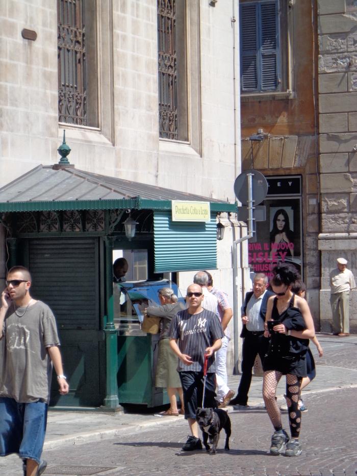 Chiosco a Piazza Matteotti