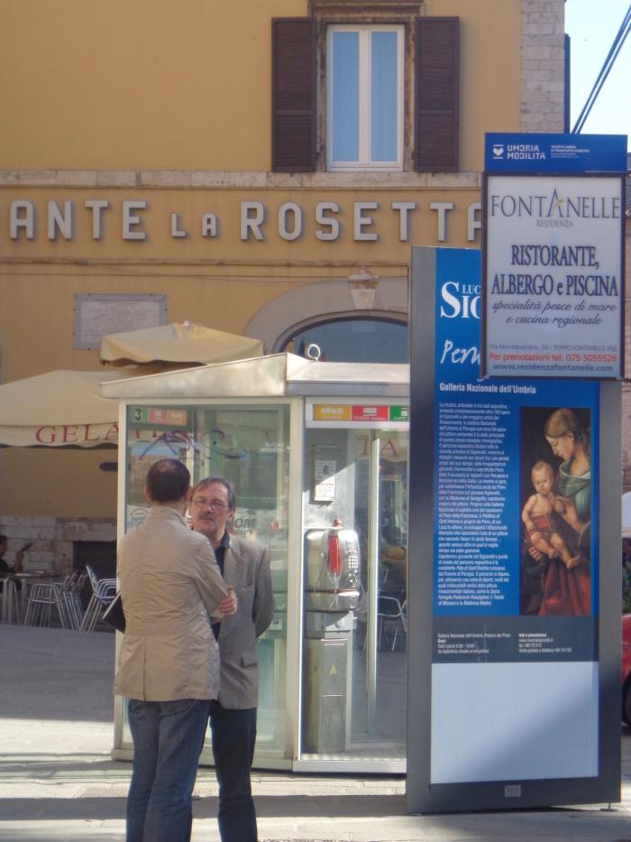 Mattina a Piazza Italia