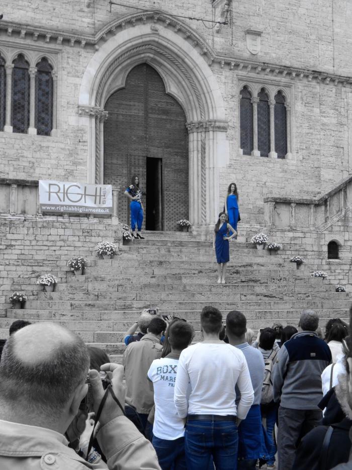 Perugia catwalk