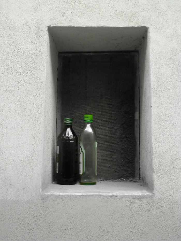 Two green bottles Perugia