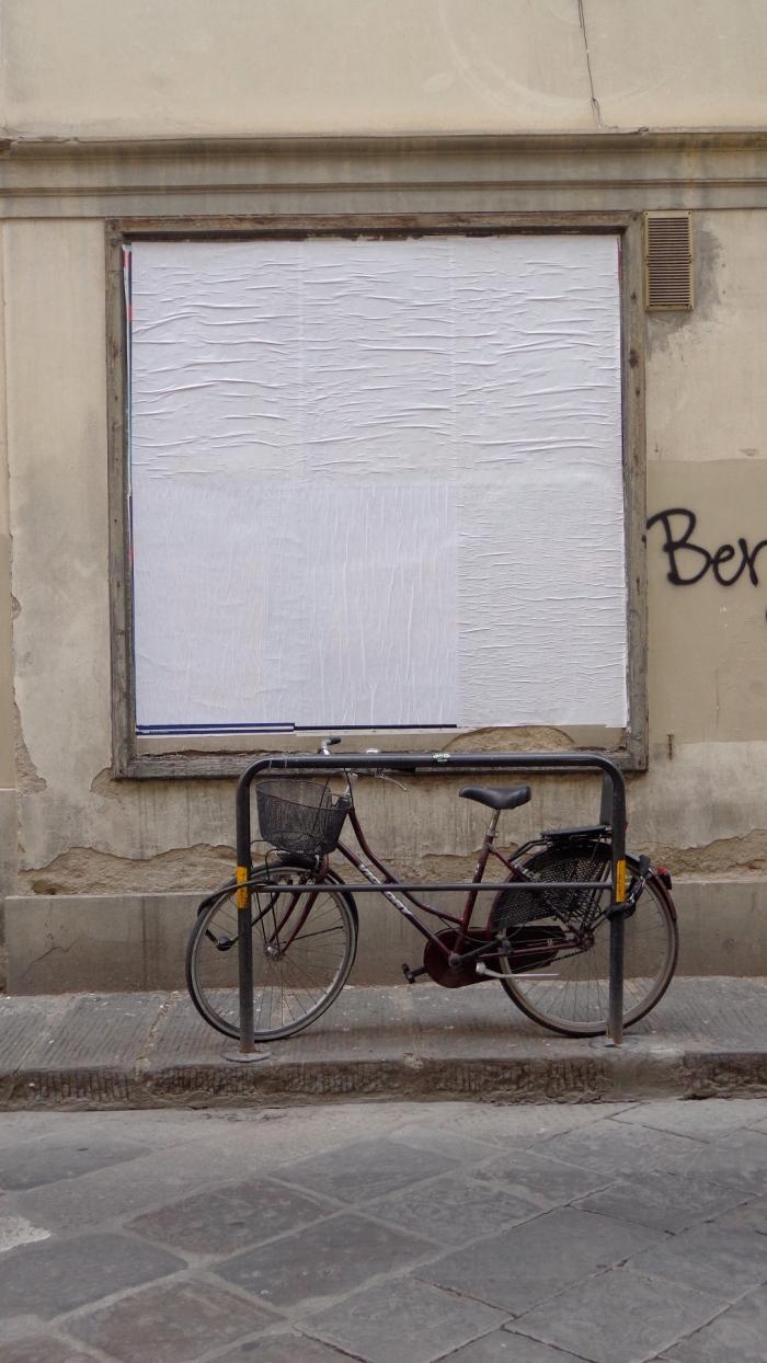 Billboard bicycle