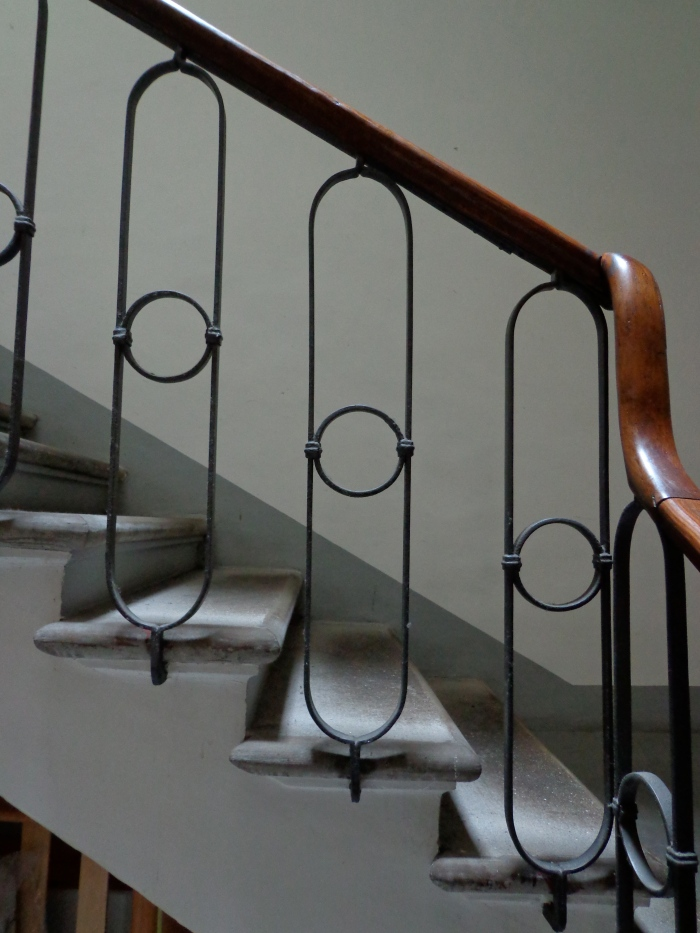 Polished handrail Perugia
