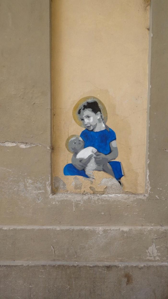Madonna streetart