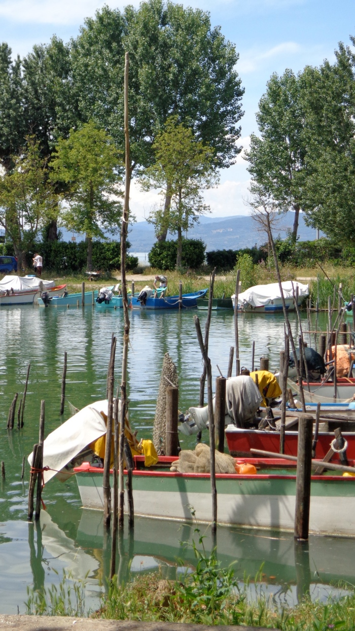 row boats trasimeno