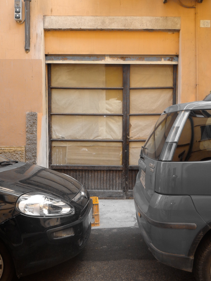 Parked cars borgo sant'antonio