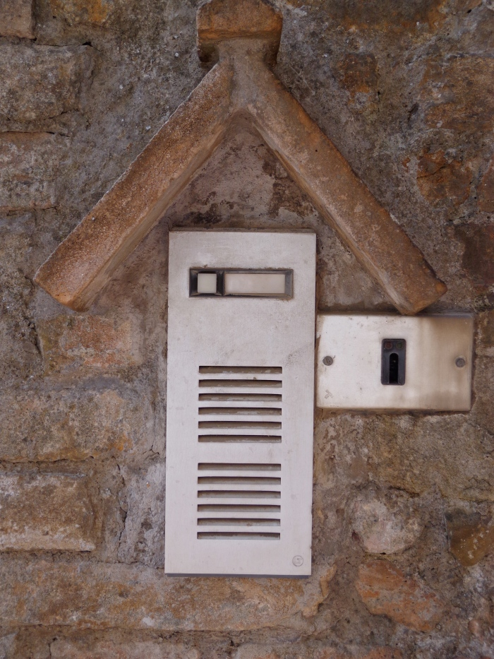 Intercom with roof
