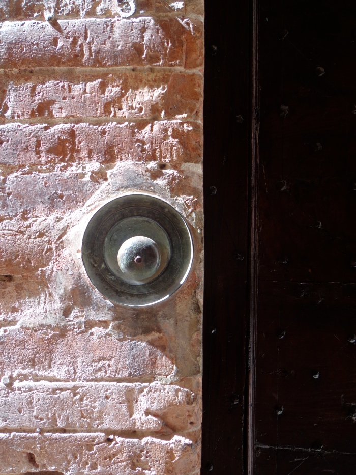 Doorbell on brickwall