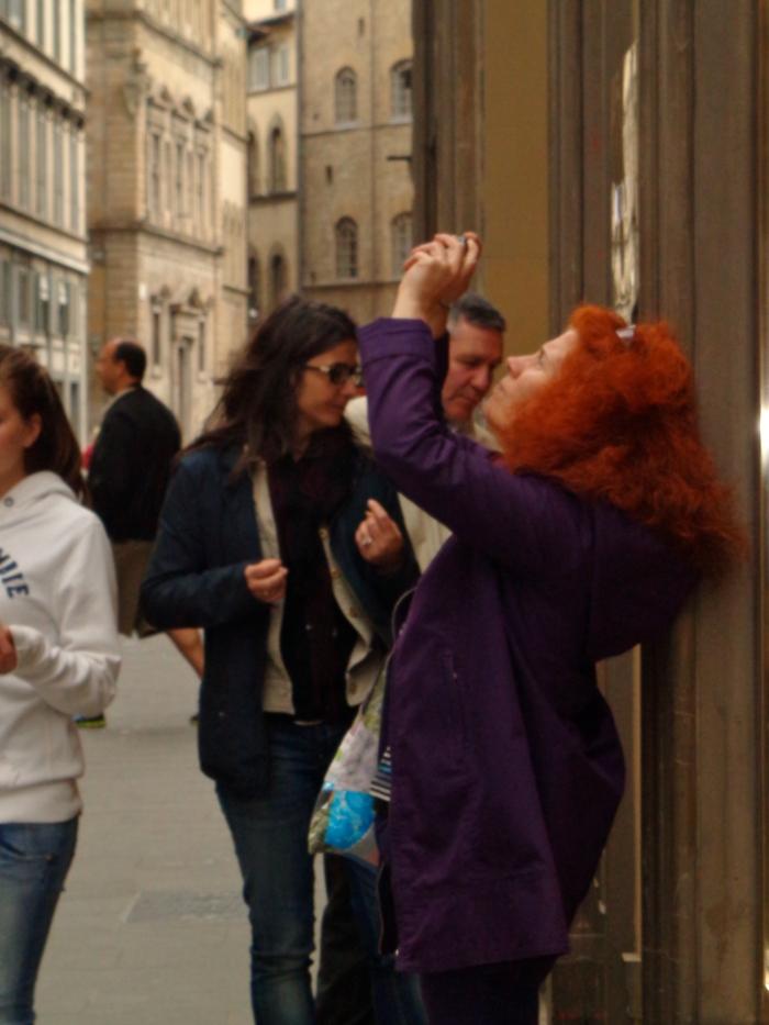 Redhead photo lady