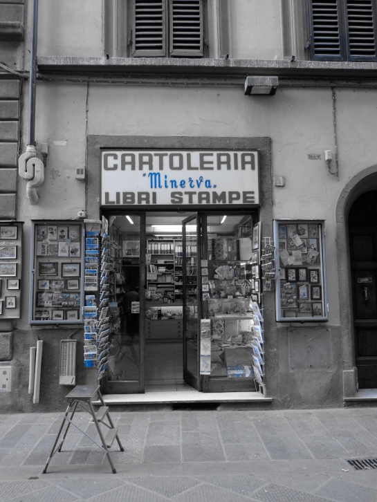 old cartoleria FI