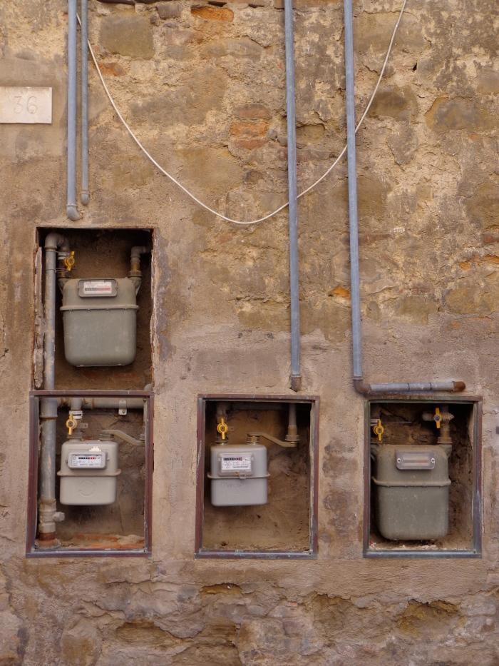 gas meters PG