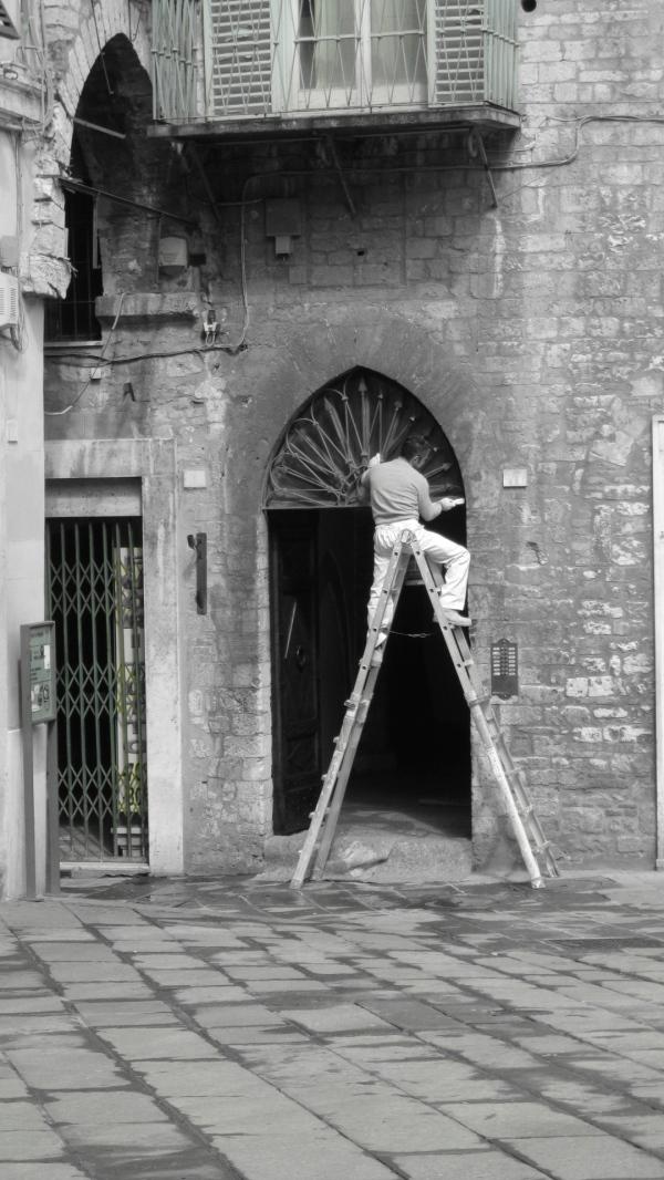 Ladder man