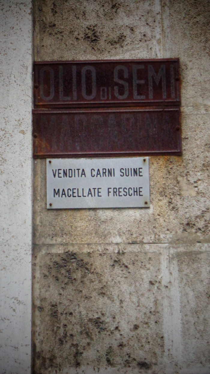 Carne sign