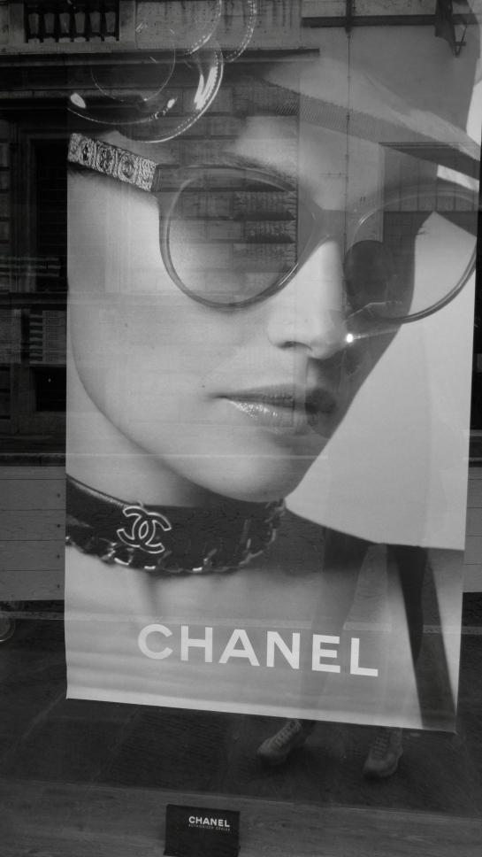 Chanel poster Perugia
