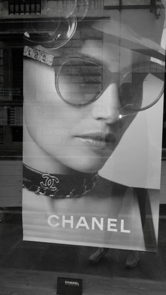 Chanel poster Perugia