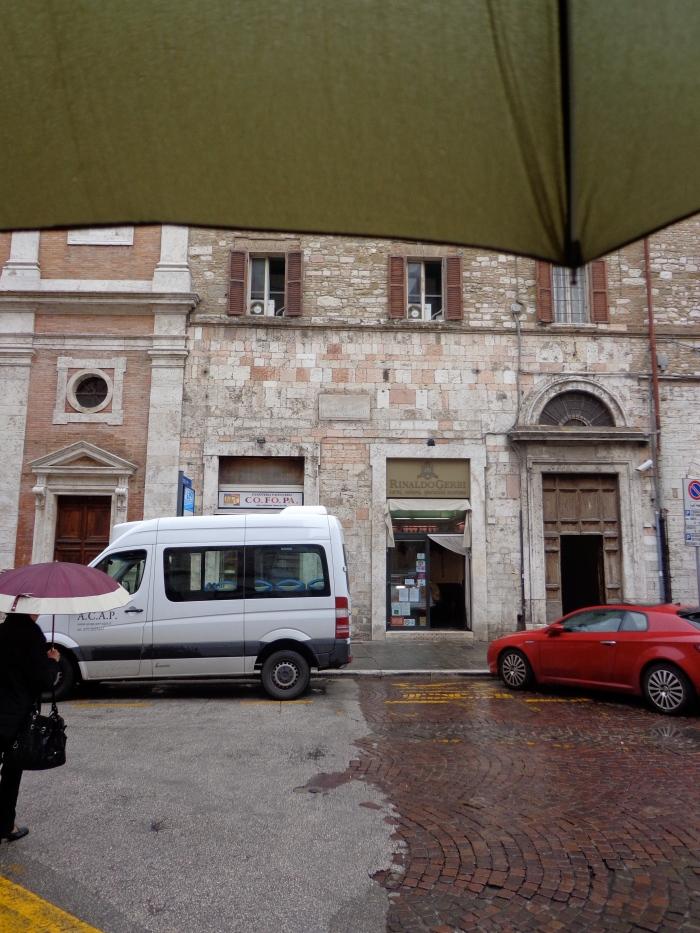 Umbrella piazza